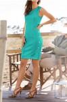 Smaragdinė suknelė
