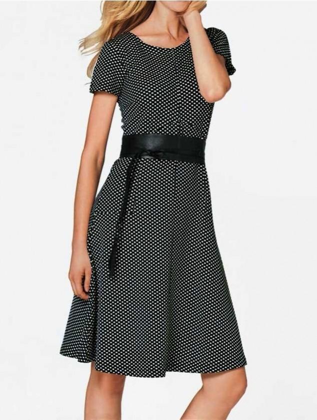 Elegantiška klasikinė suknelė