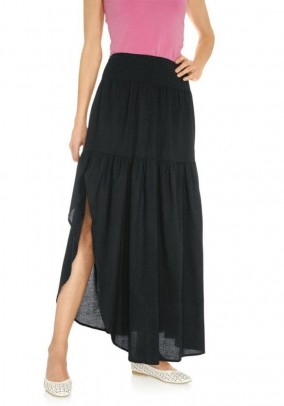 Maxi skirt, black