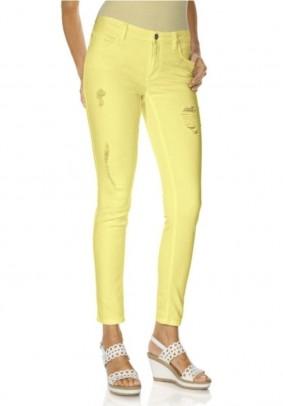 Skinny jeans, yellow