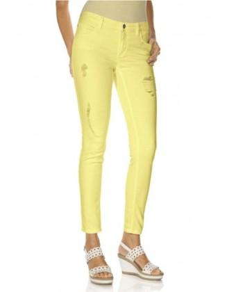 Geltoni džinsai