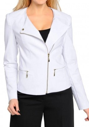 Blazer jacket, white