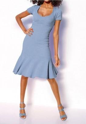 Melsva klasikinė suknelė