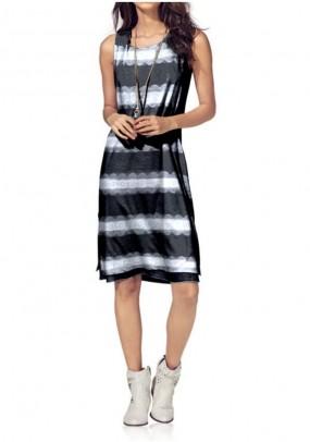 Dryžuota suknelė
