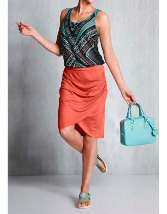 Oranžinis sijonas