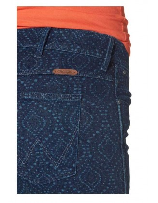 Mėlyni Wrangler džinsai