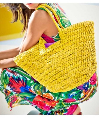 Geltonas krepšys