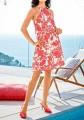 Dress, coral