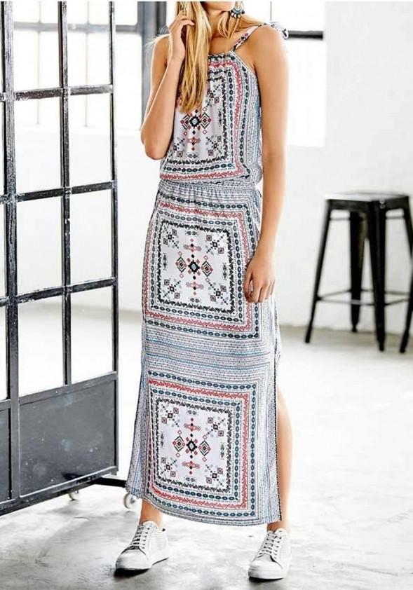 Ilga vasarinė suknelė. Liko 40 dydis