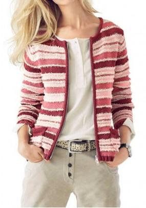 Dryžuotas megztinis. Liko 38 dydis
