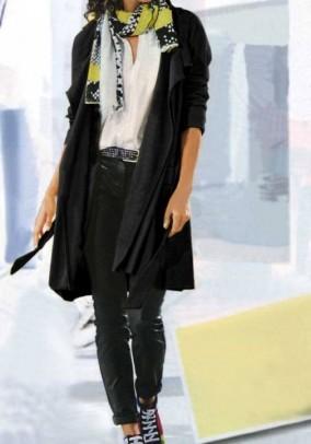 Jersey coat, black