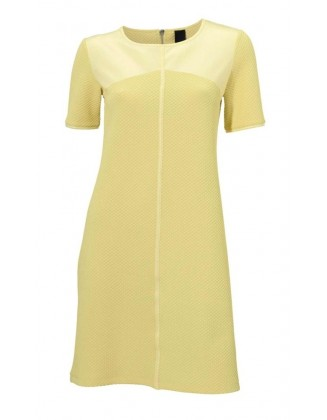 Romantiška geltona suknelė