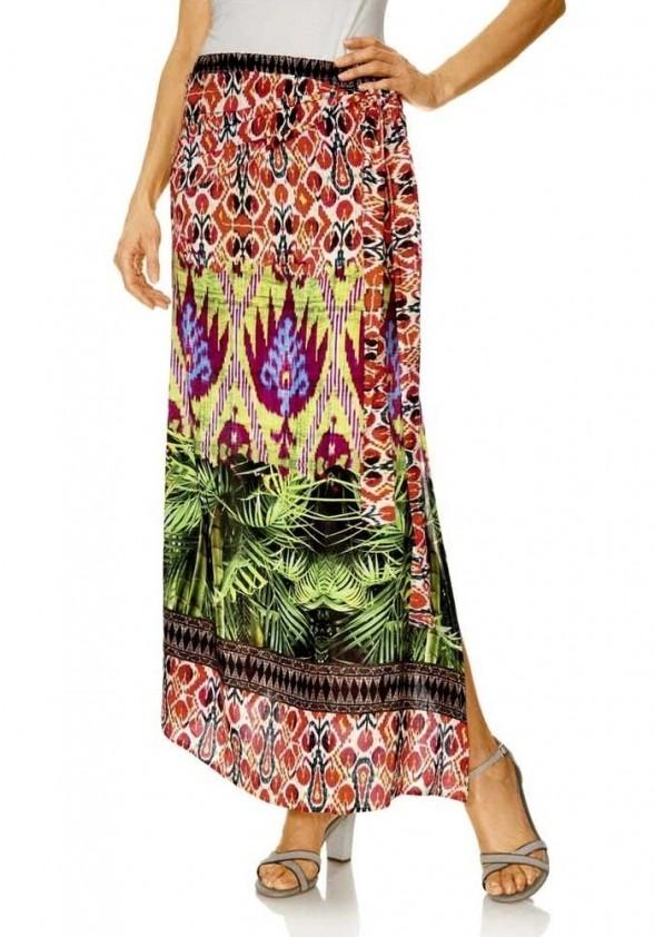 Ilgas susiaučiamas sijonas