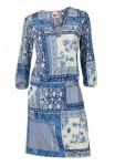 Marga mėlyna suknelė