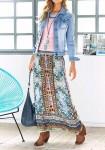 Margaspalvis maxi sijonas