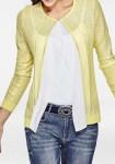 Originalus geltonas megztinis