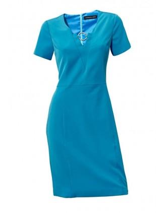 Ryški klasikinė suknelė