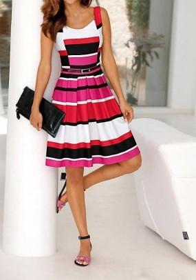 Ryški elegantiška suknelė
