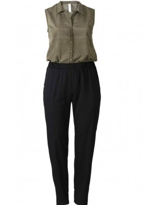 Jumpsuit, black-multicolour