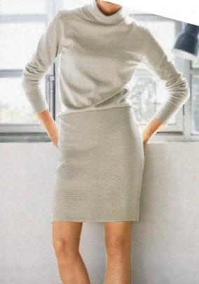 "Megzta suknelė ""Stone"". Liko 38 dydis"