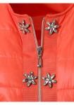 Ryški oranžinė striukė