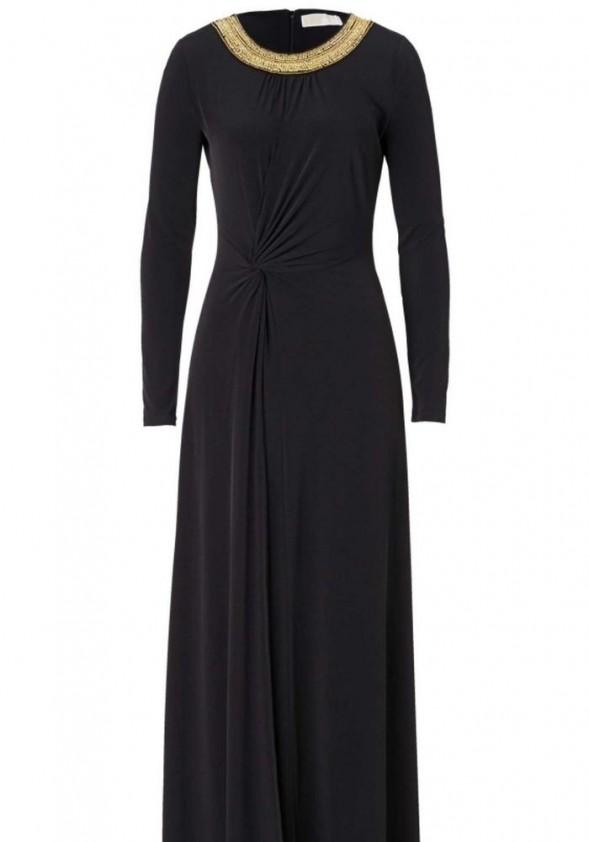 Michael Kors ilga juoda suknelė