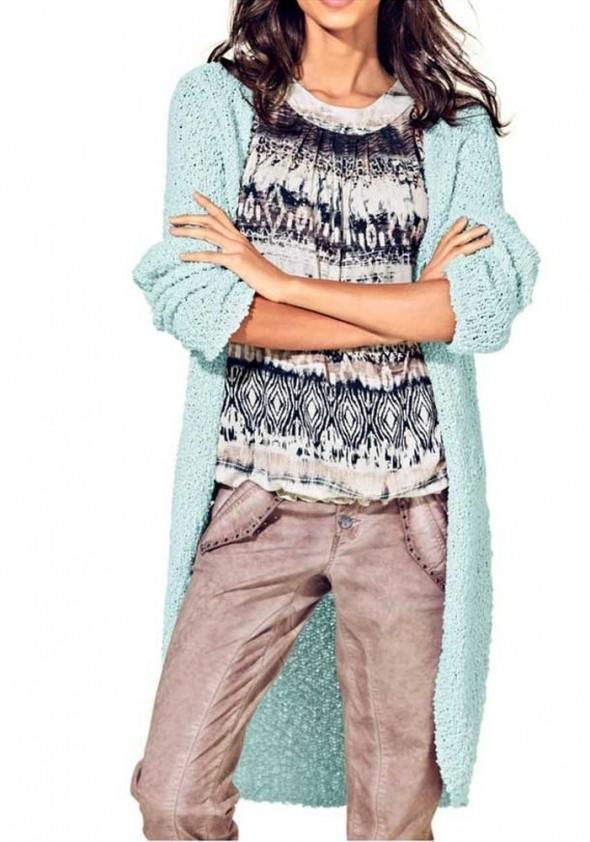"Ilgas megztinis ""Mint"""