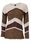 Jaukus rudas megztinis