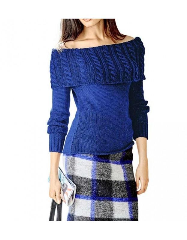 "Mėlynas megztinis ""Royal"""