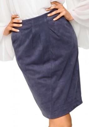 Skirt, blue