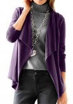 Violetinis kašmyro megztinis