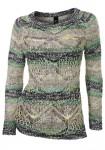 Žvyneliais dekoruotas megztinis