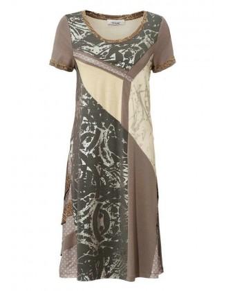 Ruda marga suknelė