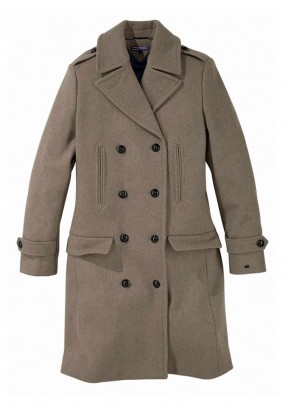 Wool coat, light brown
