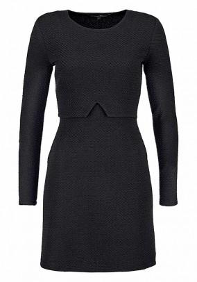TOM TAILOR juoda suknelė