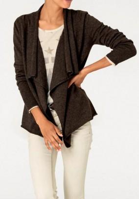 Rudas kašmyro megztinis