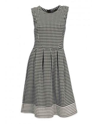 Elegantiška marga suknelė