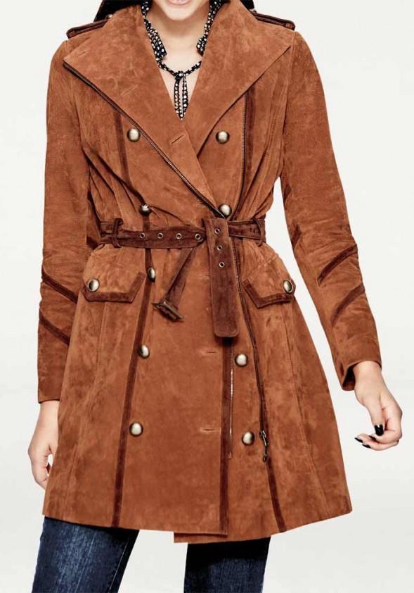 Rausvas odinis paltukas