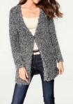 Pilkas jaukus megztinis