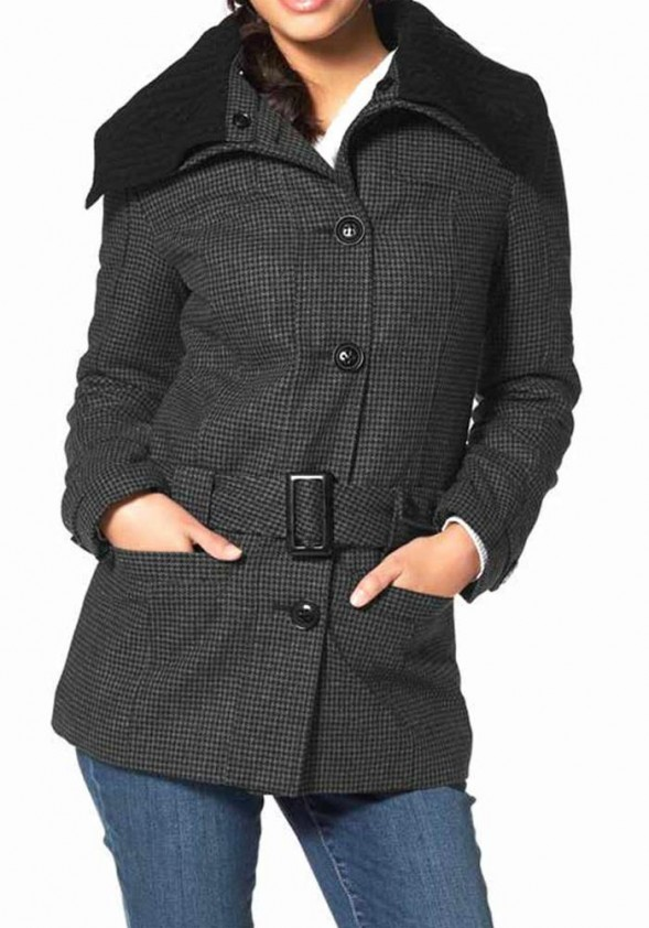 Jacket, gray-black