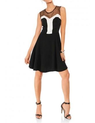 Elegantiška kokteilinė suknelė