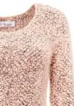Pūkuotas rausvas megztinis
