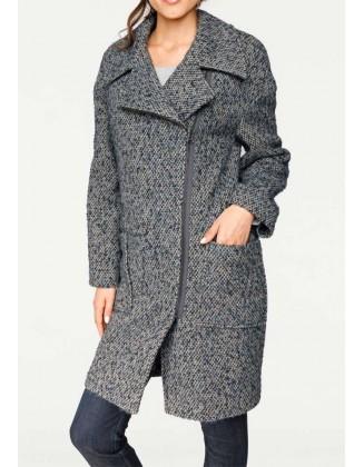 "Vilnonis paltas ""Indigo"""