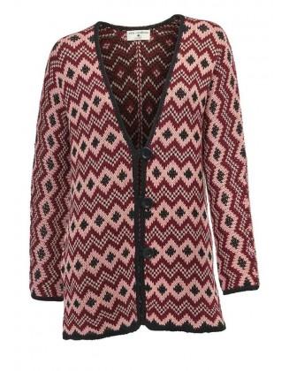 Šiltas margas megztinis