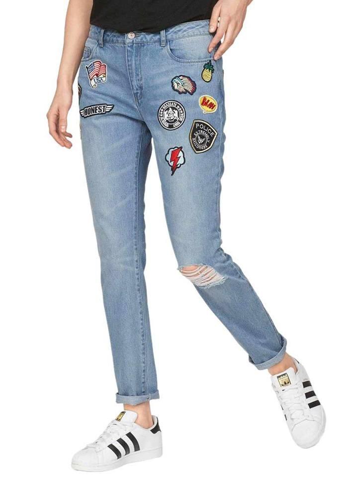 Neueste Mode Bestbewertete Mode größte Auswahl an Boyfriend jeans, light blue