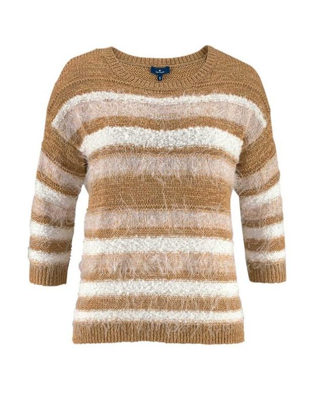 Tom Tailor rudas megztinis