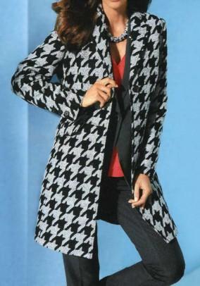 Margas vilnonis paltas