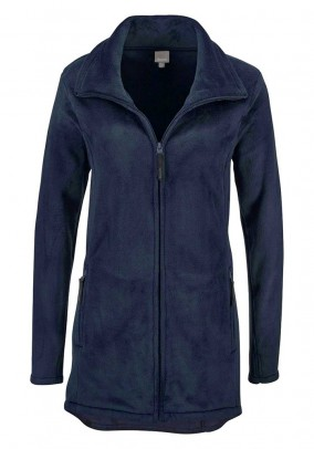 Fleece jacket, navy