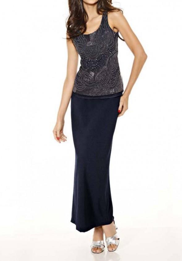 Ilgas mėlynas sijonas. Liko 36 dydis