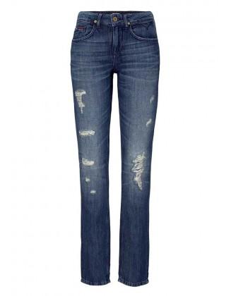 HILFIGER DENIM mėlyni džinsai